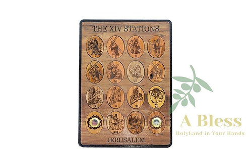 The XIV Stations - Wall Hanging Plaque
