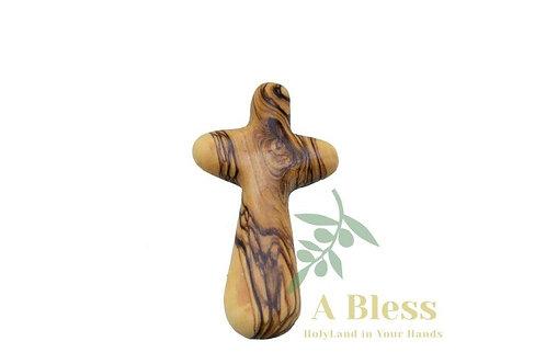 Olive Wood Hand Cross