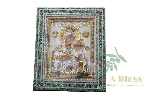 Virgin Mary & Child Icon