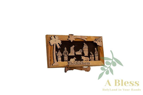 Nativity Wooden Stand