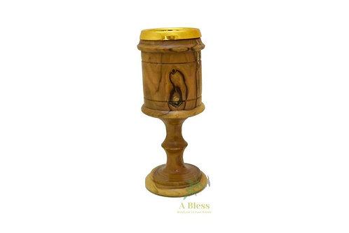 Olive Wood Chalice