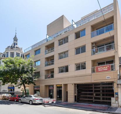 Pavillon San José fachada lateral