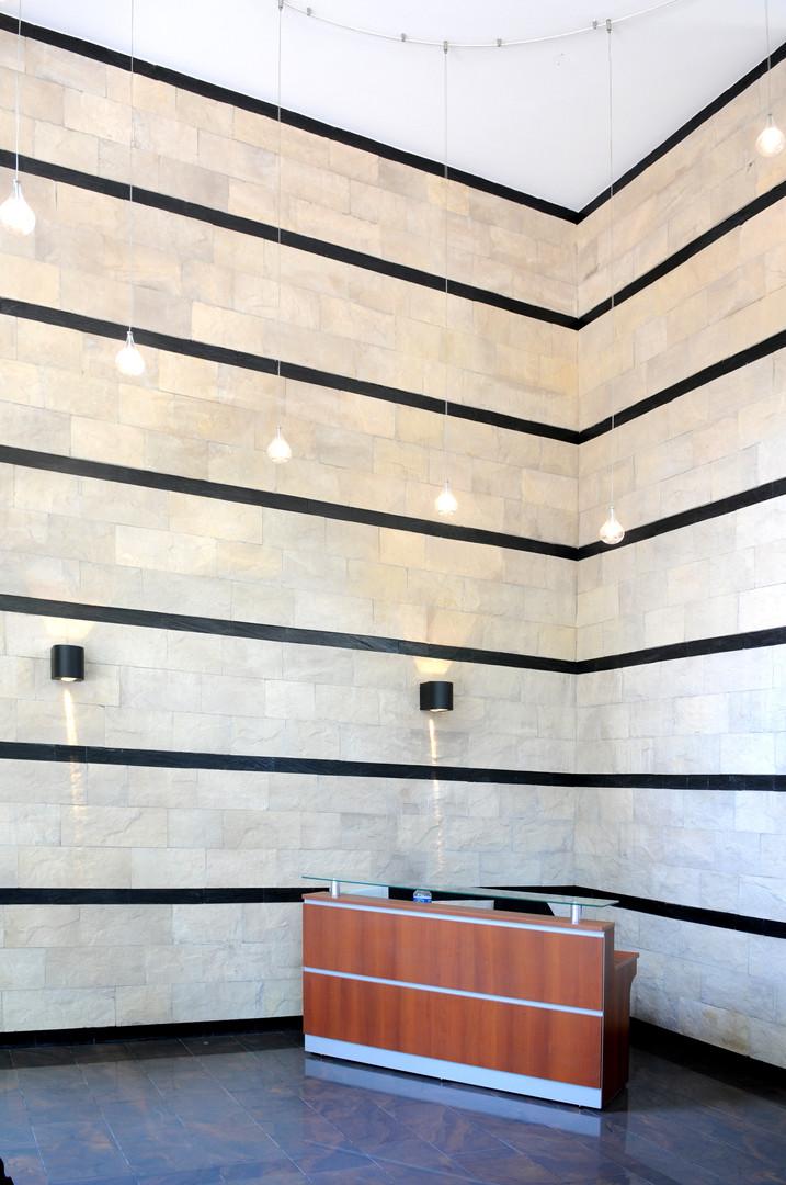 Hall de entrada Pavillon Goyena