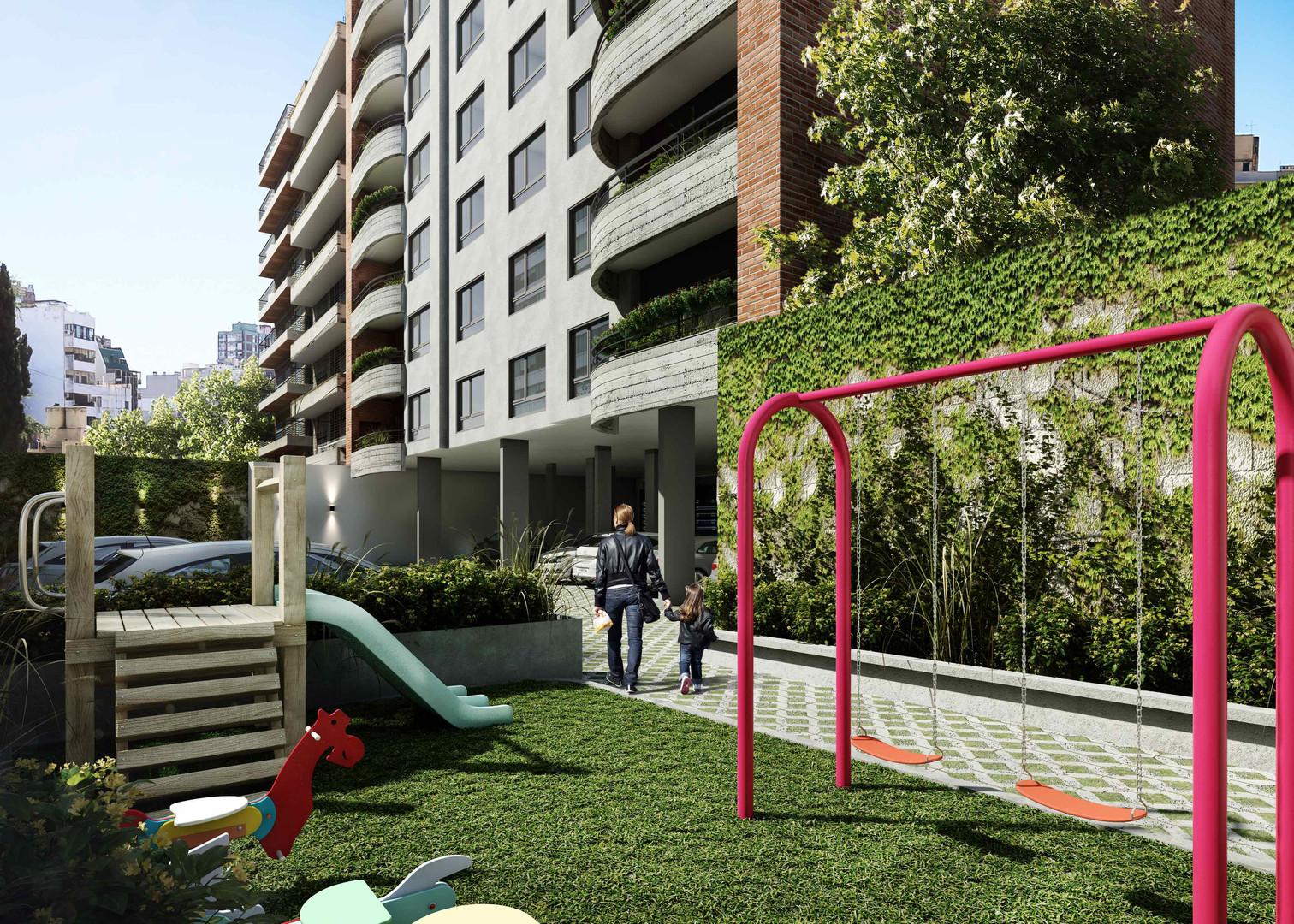 Plaza para niños Pavillon Fragata