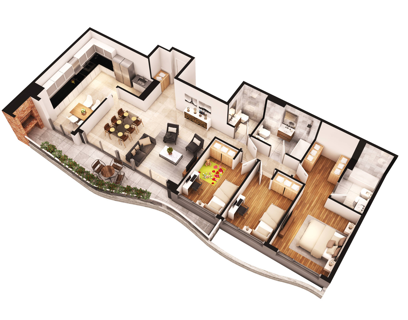 Axo Pavillon Fragata
