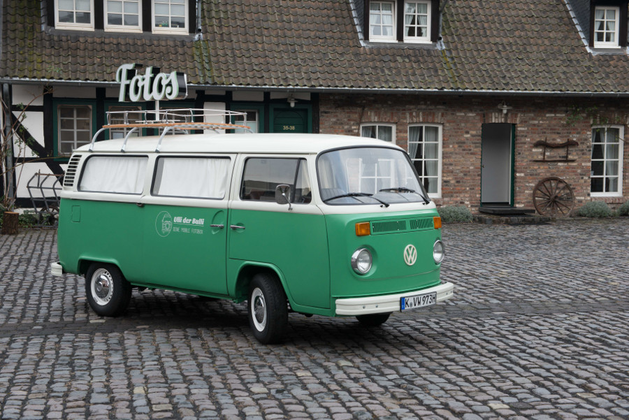 Elli der Fotobus in Köln
