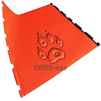 Orange Glass Jacket