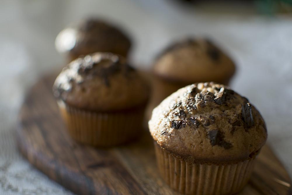 Muffin aux pépites de chocolats