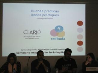 Bones pràctiques en aragonès i català