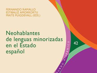 """Participación aragonesa en libro """"Neohablantes de lenguas minorizadas en el Estado español&quot"""