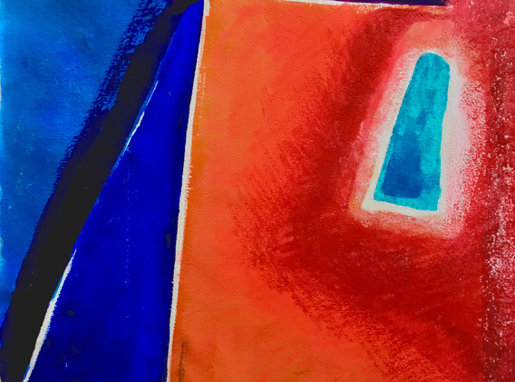 Reds and Blues, Abstract