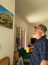 Derek Henry at the foot of Hill at Sotir