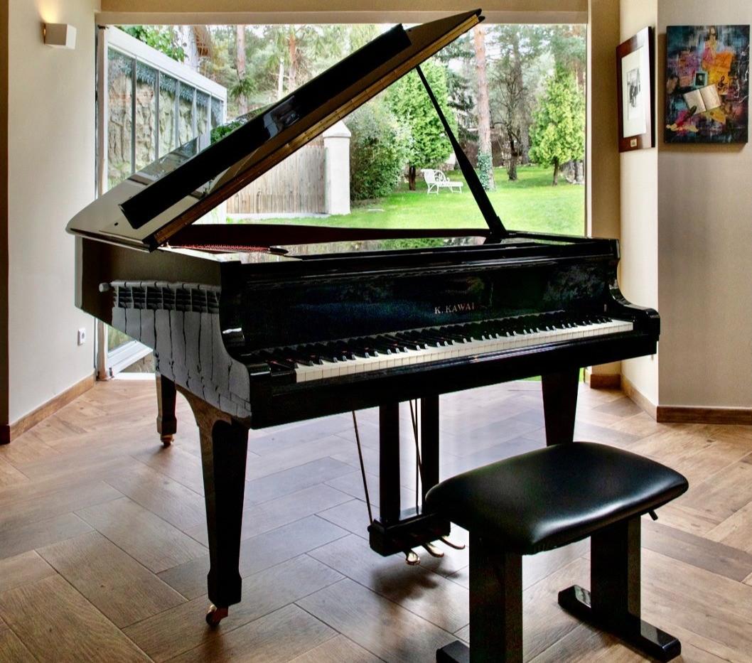 El piano del Liceo Glinka