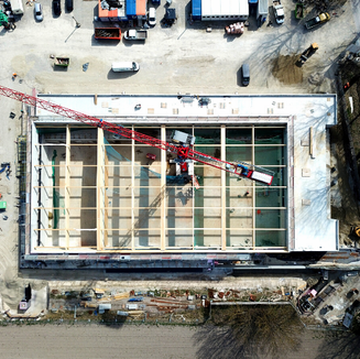 Luftbild Baudokumentation Gemeinde Ismaning