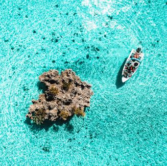 Luftbild Mauritius