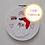 Thumbnail: Santa Claus PDF Hand Embroidery Pattern