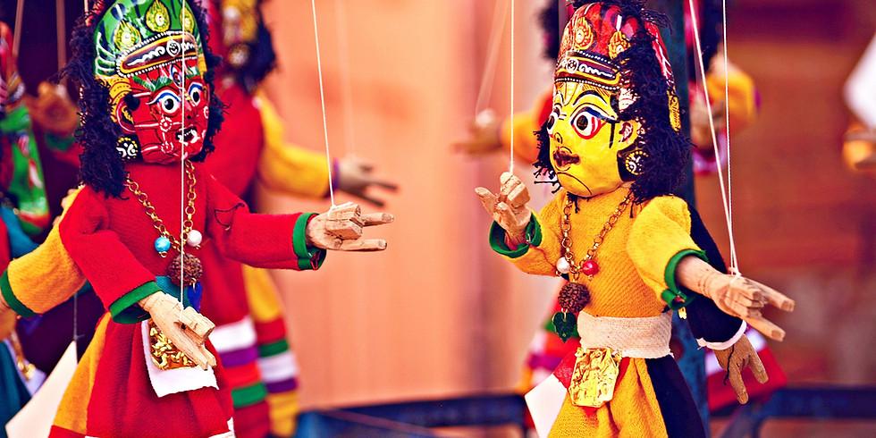 Sortie au festival des Marionnettes