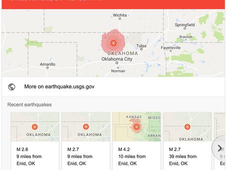 And the Frackquakes Keep Causing Damage