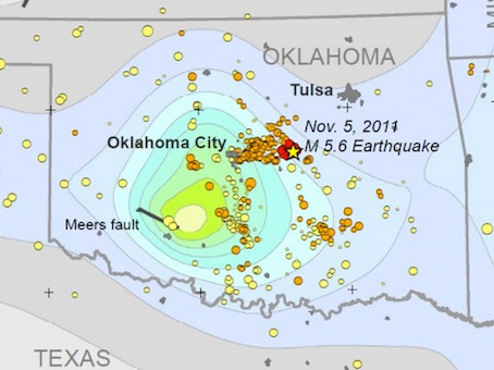 UPDATE:  Oklahoma Earthquake Cases