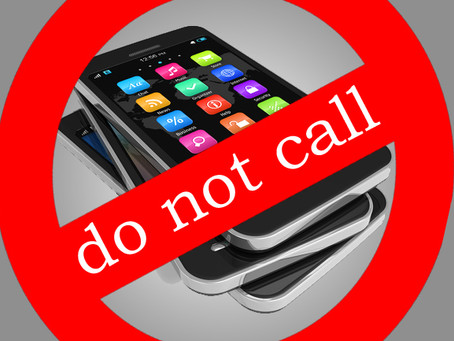 Why did I register my phone number with the Do-Not-Call Registry anyway?