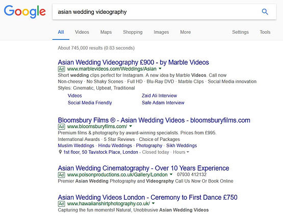 Why are Asian wedding videography prices so high!
