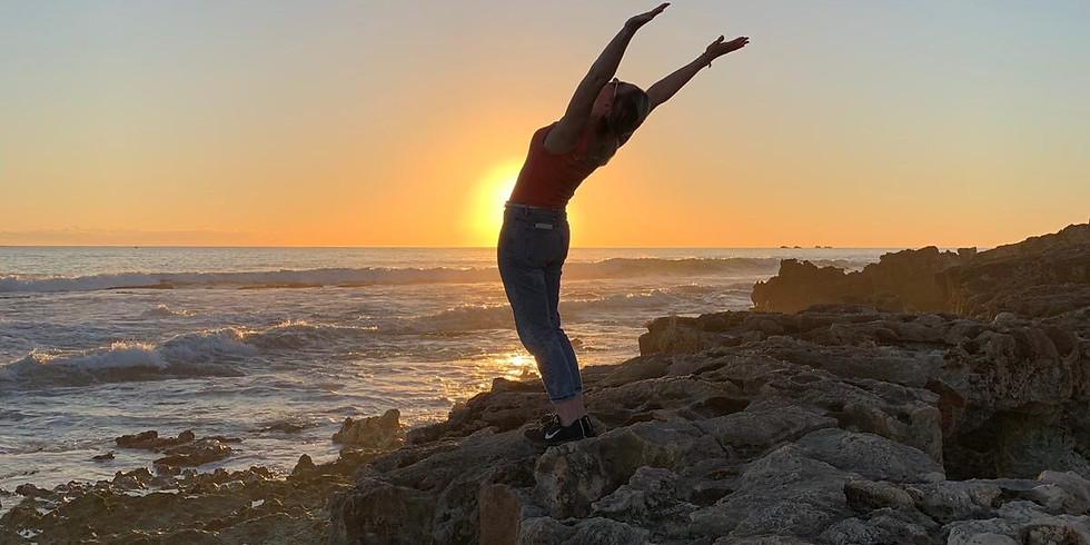 Sunrise Ocean Walk Yoga Mindarie Coast