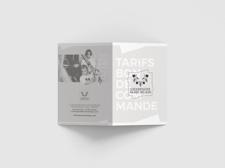 Flyer - Champagne Dames des Agis