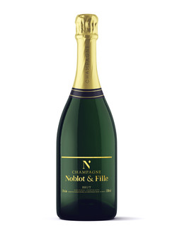 Refonte d'étiquette de Champagne Noblot