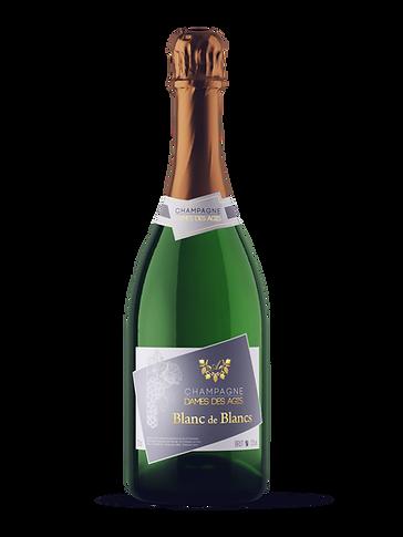 Champagne Bottle BL DE BLANCS - DAMES DE