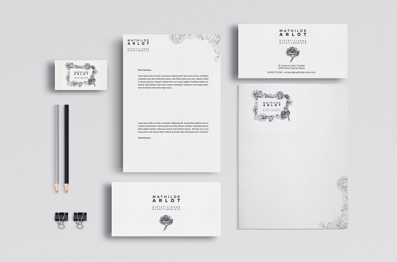 Création + Déclinaison d'un logo