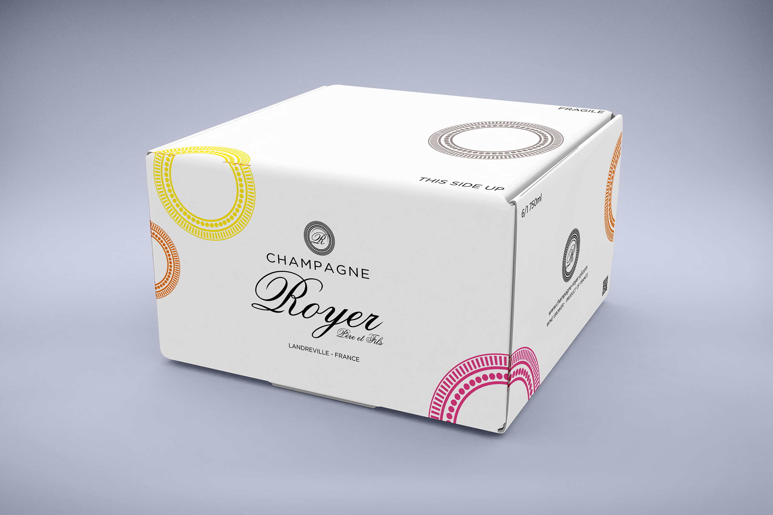 Packaging - Champagne Royer