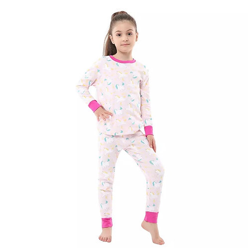 Girls Unicorn-Pink Contrast