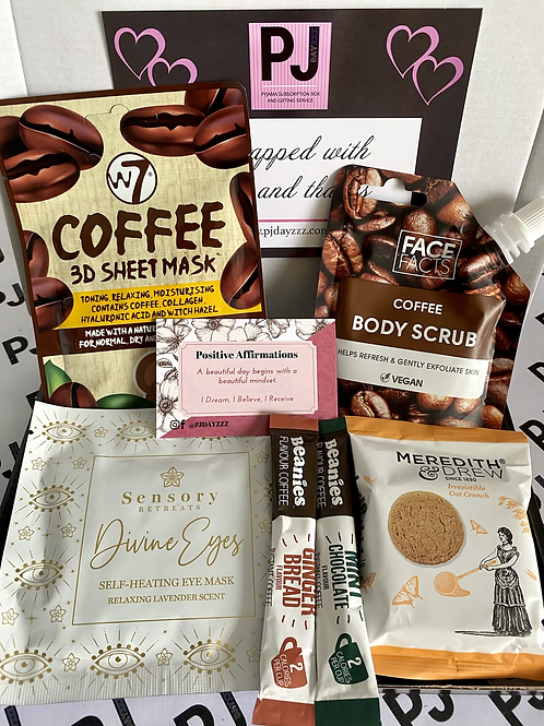 Deluxe Coffee Lover Pamper Treat