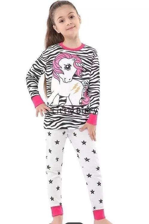 Girls Unicorn-Zebra Print