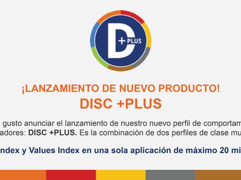 ¡Nuevo DISC +PLUS
