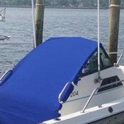 boat cover blue