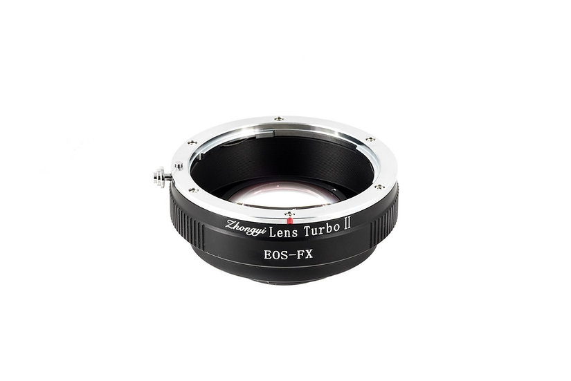 Lens Turbo Adapter Mark II (For Fuji Mount Camera)