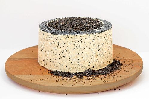 Halva with Black Sesame Seeds