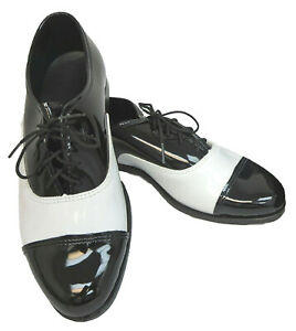 BWCP  BLACK & WHITE CAP TOE