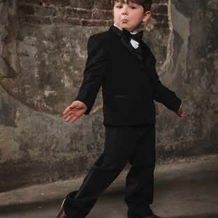 Bond Black Boy Tuxedo