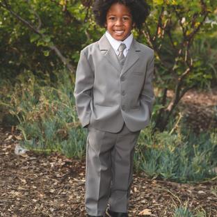 Kevin Grey Boy Suit