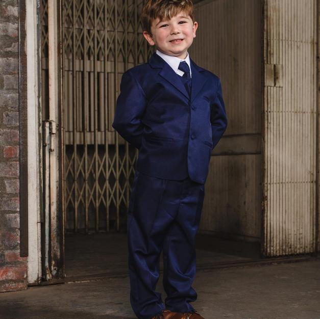 Joey Indigo Boy Tux