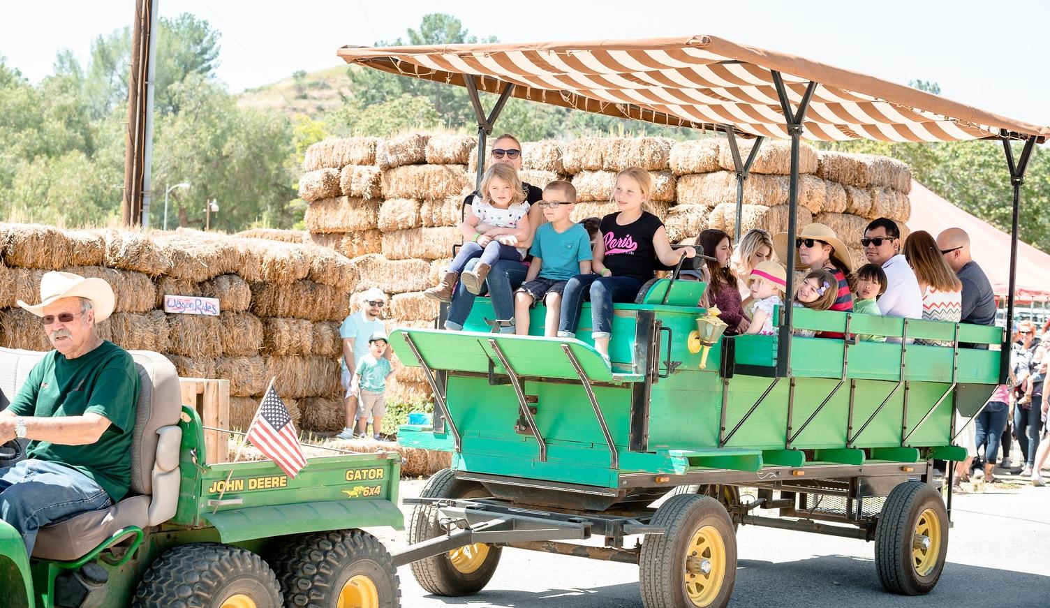 Tractor Wagon Rides