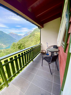 veranda campinghytte