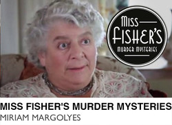 Miss Fisher's Murder Mysteries - Miriam Margolyes