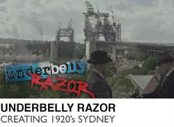 Underbelly Razor - Creating 1920's Sydney