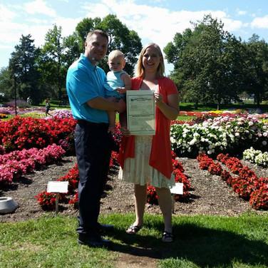 CSU Flower Garden Elopement - Fort Collins 2017