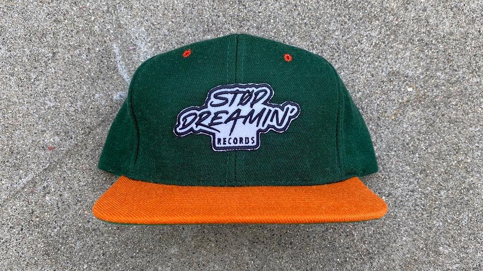 Classic Stop Dreamin Records Logo Snapback