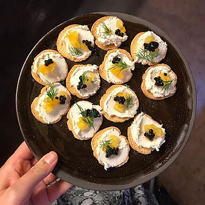 Appetizer for _hoho_conceptstore opening