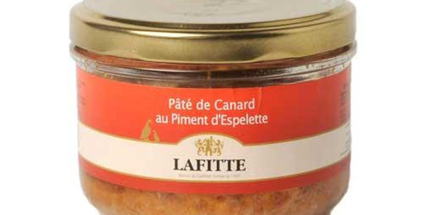 Lafitte pure duck pate with espelette pepper 80g